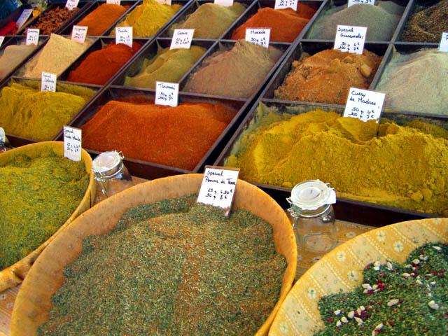 Bedoin et son marché